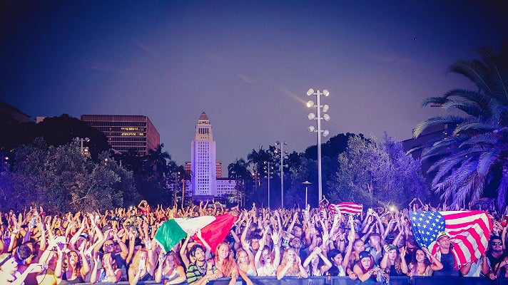 Made in America festival at Grand Park in Los Angeles