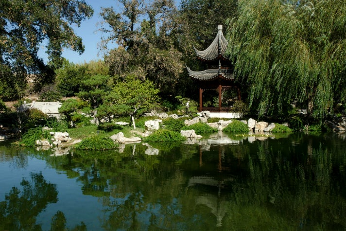 Terrace of the Jade Mirror at the Garden of Flowing Fragrance