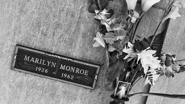 Marilyn Monroe's crypt at Pierce Brothers Westwood Village Memorial Park