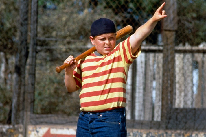 "Hamilton ""Ham"" Porter in ""The Sandlot"""