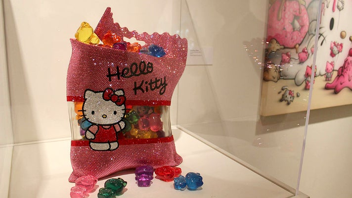 Hello Kitty gummi bears at JANM