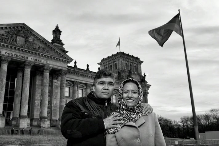 Photo by Tom Stoddart, Reichstag Building, Berlin, Germany, 2015.