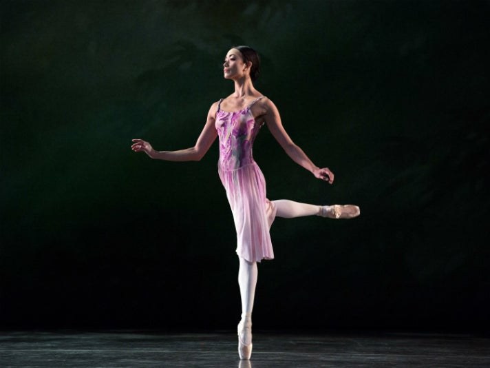 """Stella Abrera in """"Leaves are Fading"""" by American Ballet Theatre"""
