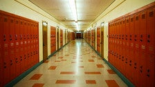 """Hallway at Ulysses S. Grant High School from """"Clueless"""""""