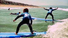 Learn to Surf L.A. at El Porto