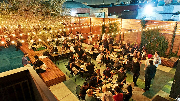 Patio at Everson Royce Bar