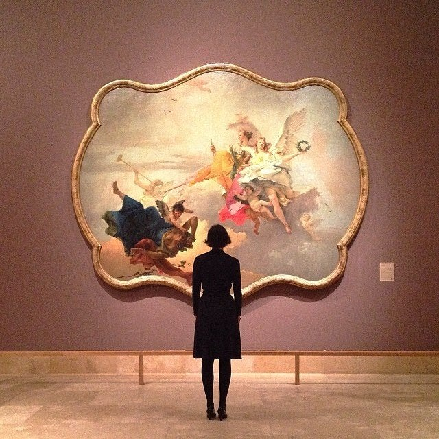 "Tiepolo's ""Triumph of Virtue and Nobility Over Ignorance"" at Norton Simon Museum"