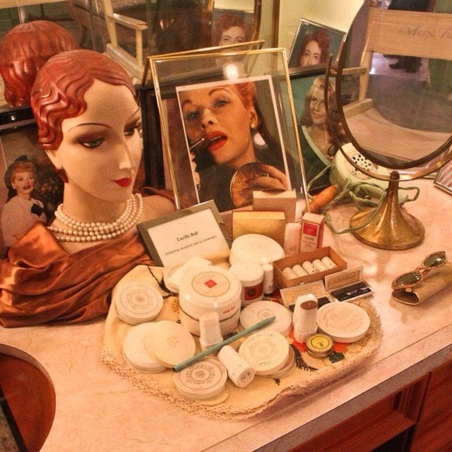 Redhead Room at the Hollywood Museum