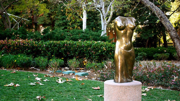"""Victory"" at Franklin D. Murphy Sculpture Garden"