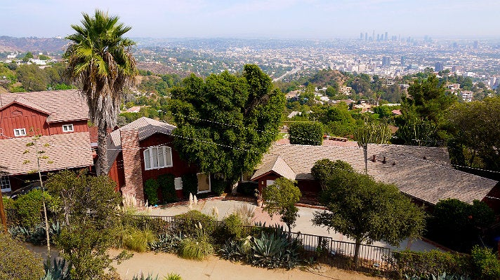 """Runyon Canyon house from """"Scream 3"""""""