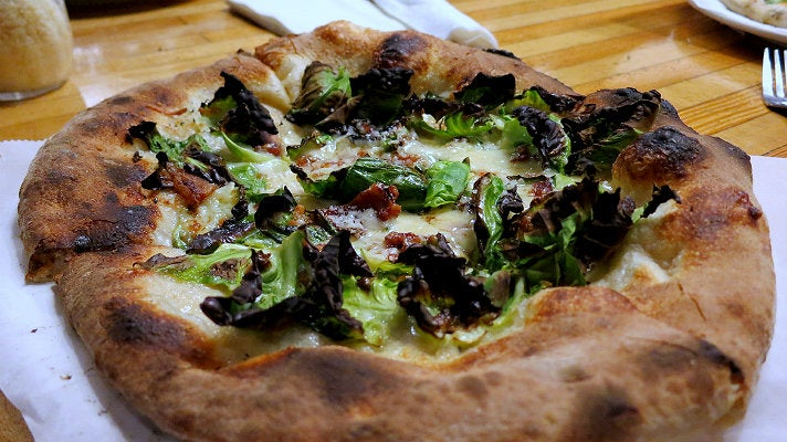 Pitfire brussels sprout pizza