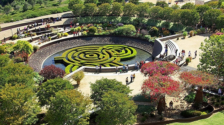 Central Garden at the Getty Center