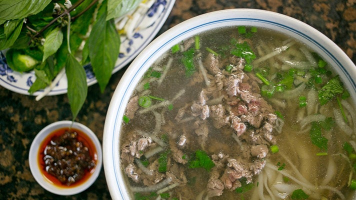 Pho bac at Pho Filet