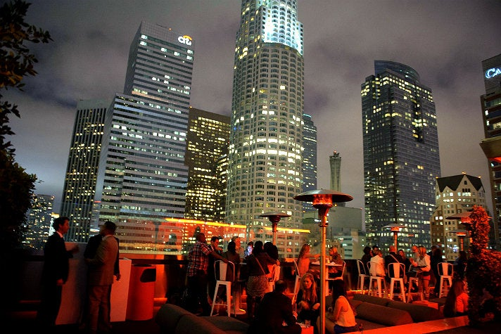 The Rooftop at The Standard Downtown L.A.