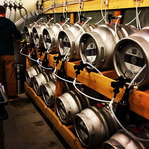 Macleod Ale Brewing Co. kegs