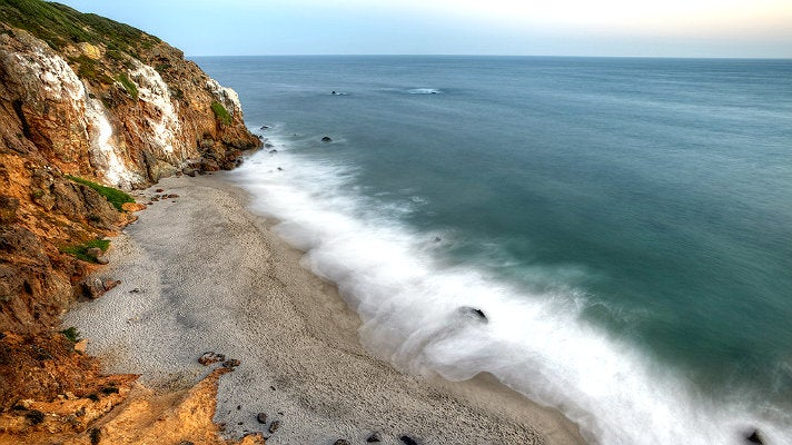 Point Dume State Beach in Malibu