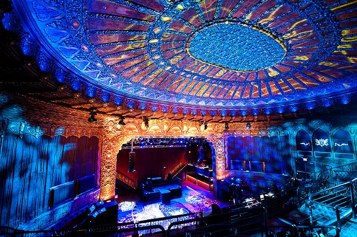 Belasco Theatre interior