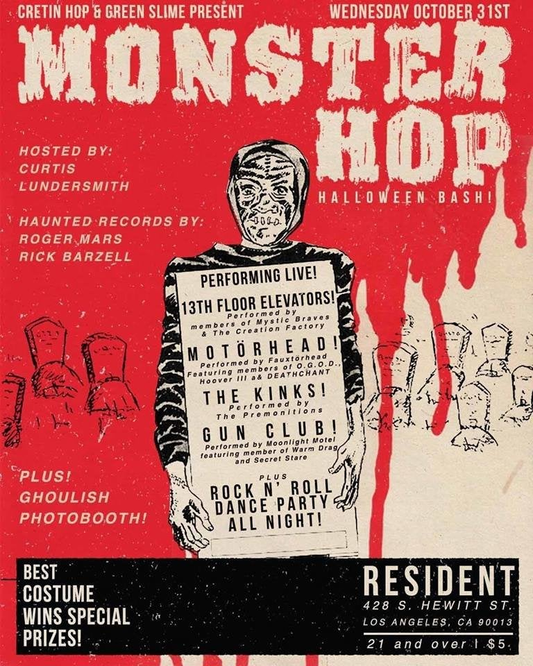 Monster Hop 2018 at Resident in DTLA